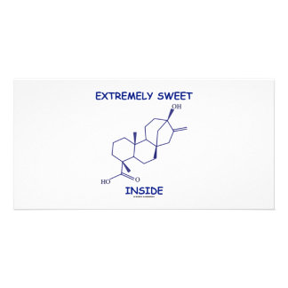 Extremely Sweet Inside (Steviol Molecule) Photo Card