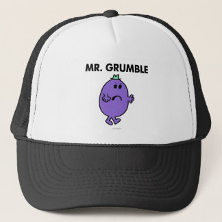 Extremely Unhappy Mr. Grumble Trucker Hat