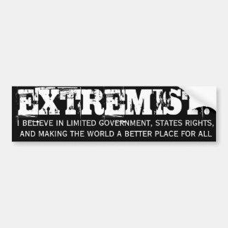 EXTREMIST! Bumper Sticker