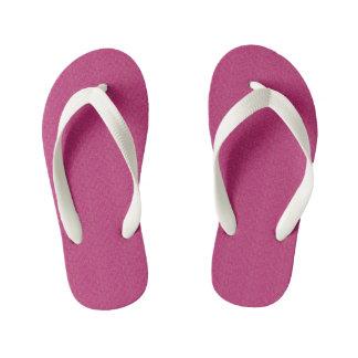 Extropix Beautiful Pink Pattern Kid's Flip Flops