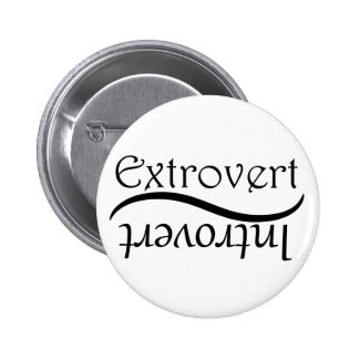 Extrovert-Introvert 2 Inch Round Button