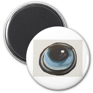 Eye 2 Inch Round Magnet