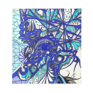 Eye Among Vines Notepad