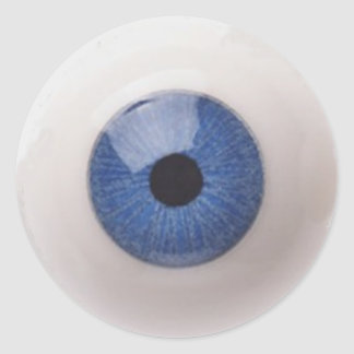 EYE BALL CLASSIC ROUND STICKER