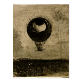 Eye Balloon Postcard