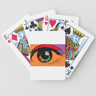 Eye Bicycle Playing Cards