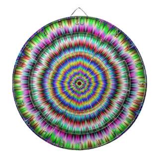 eye boggling psychedelic Dartboard