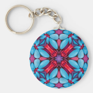 Eye Candy Kaleidoscope  Keychains