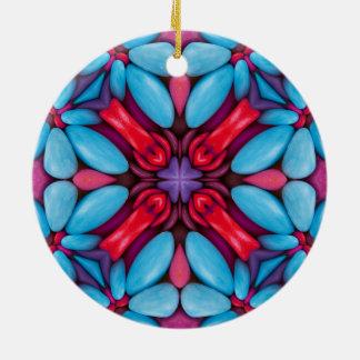 Eye Candy Kaleidoscope  Ornaments 6 shapes
