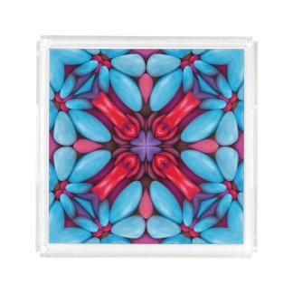 Eye Candy Pattern  Acrylic Trays, 2 shapes 4 sizes Acrylic Tray