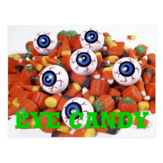 eye candy postcard