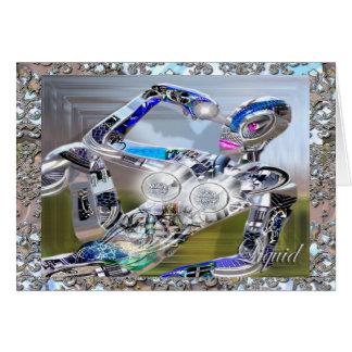 Eye Candy Robot Card