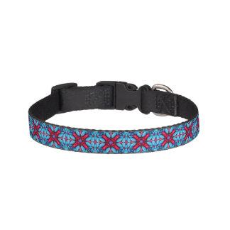 Eye Candy  Tiled   Dog Collars, 3 sizes Pet Collar
