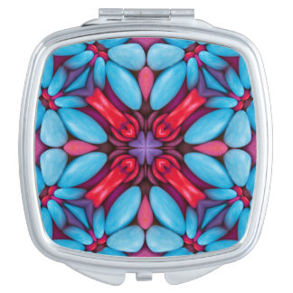 Eye Candy  Vintage Kaleidoscope  Compact Mirror
