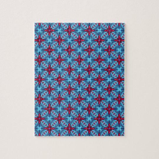 Eye Candy Vintage Kaleidoscope Jigsaw Puzzle