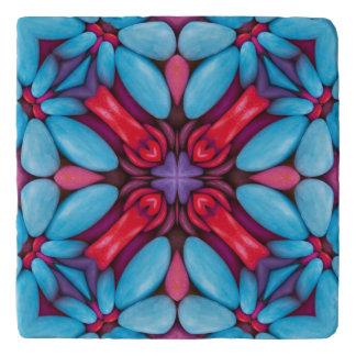 Eye Candy  Vintage Kaleidoscope  Stone Trivets
