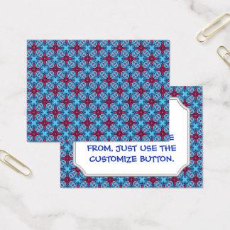 Eye Candy Vintage Pattern  Business Cards