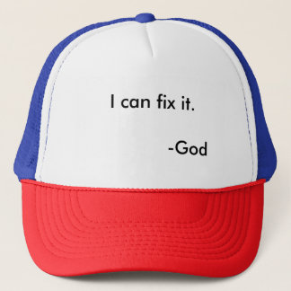 Eye-catching, inspirational hat