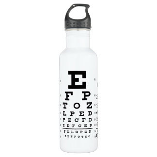 Eye Chart 710 Ml Water Bottle