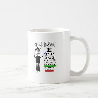 Eye Chart Eye Doctor Design Gifts Coffee Mugs