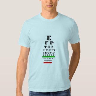 EYE CHART Gifts Shirts