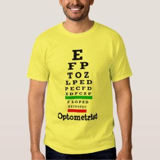 EYE CHART Gifts T-shirts