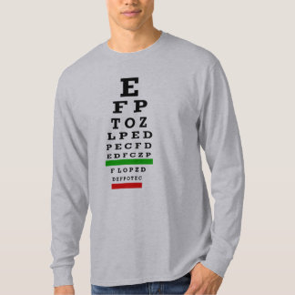 EYE CHART Gifts Tshirt