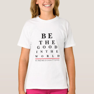 Eye Chart Quote Kids T-Shirt