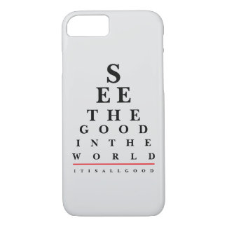 Eye Chart Quote Phone Case