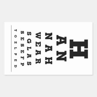 Eye Chart Stickers