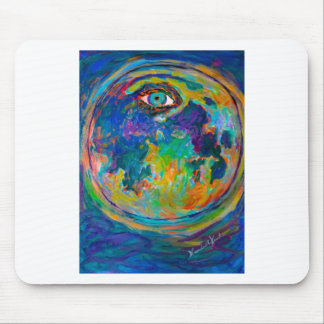 Eye Crater Mouse Pad