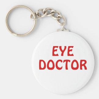 Eye Doctor Basic Round Button Keychain