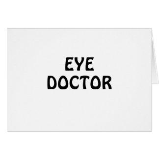 Eye Doctor Card