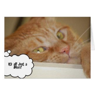 Eye Doctor Humor/It's all a Blur Card