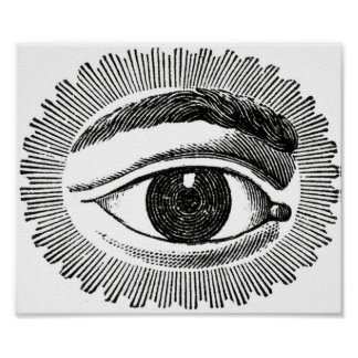 Eye embankment PAPER Poster