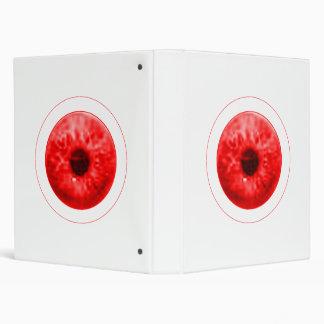 Eye Eyeball jGibney The MUSEUM Zazzle Artist Serie Vinyl Binders