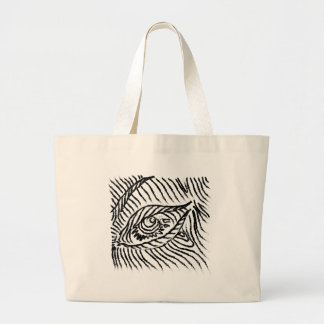 eye , eyelashes , mood, big brother large tote bag