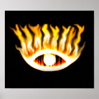 Eye Fire Poster