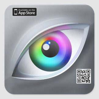 Eye For Color App Icon Sticker