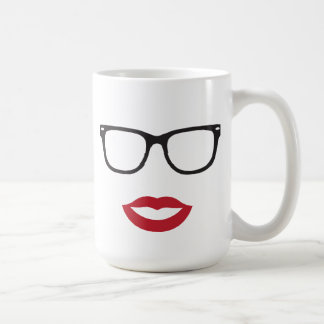Eye Glasses and Lips Mug
