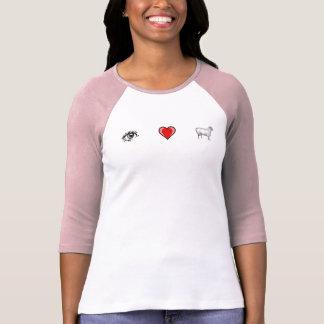 Eye Heart Ewe Tee Shirts