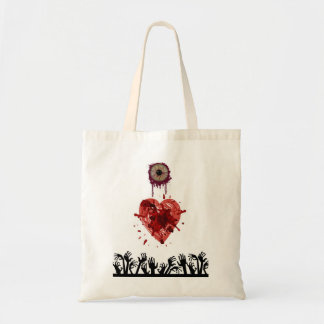 Eye Heart Zombies Tote Bag