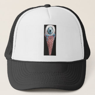 eye hoists cream trucker hat