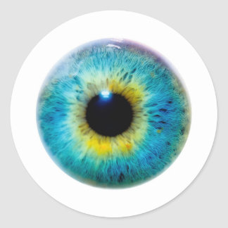Eye I Classic Round Sticker