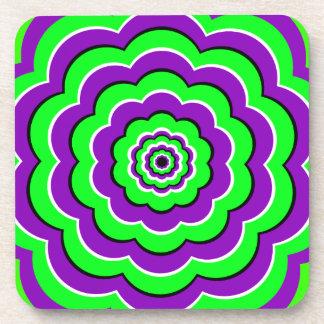 Eye Illusion Coaster Set