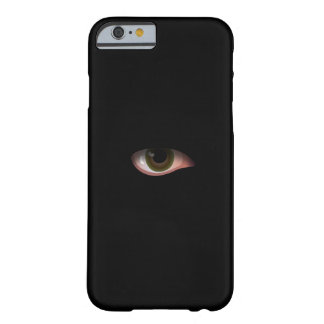 Eye in Black Barely There iPhone 6 Case
