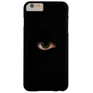 Eye in Black Barely There iPhone 6 Plus Case