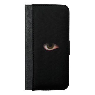 Eye in Black iPhone 6/6s Plus Wallet Case