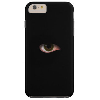Eye in Black Tough iPhone 6 Plus Case