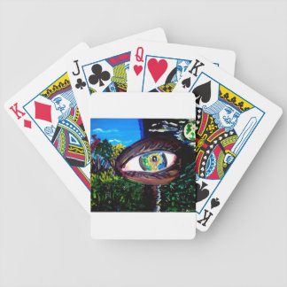 Eye In The Middle of the Forest Bicycle Playing Cards